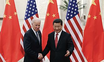 Første samtale mellom Biden og Xi på sju måneder