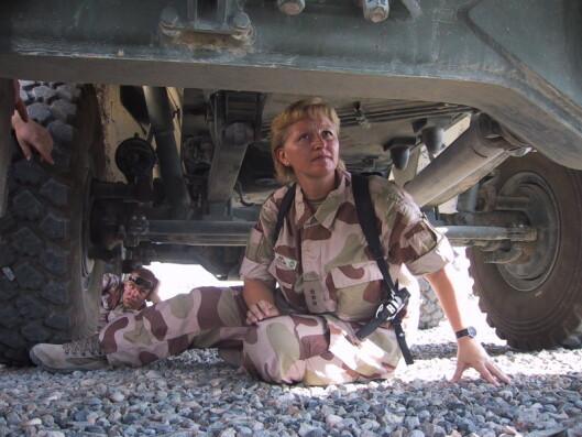 Ann Helen i Kabul i 2007.