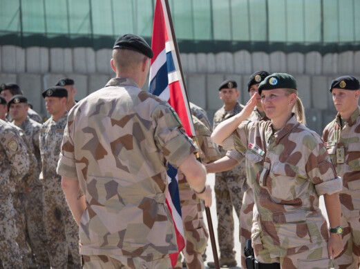 Ann Helen var først militær i Afghanistan, så ble hun sivilt ansatt i Nato. I 2011 og 2014 var hun tilbake som militær.