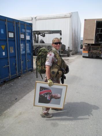 I 2014 er Ann Helen Dybwad tilbake i Mazar-e Sharif. Da er hun med å pakke ned den norske leiren.