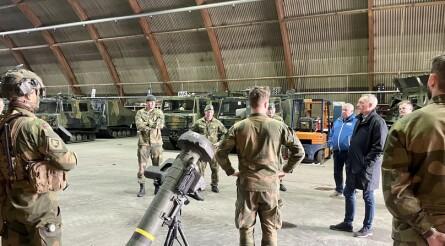 Regjeringen vil bruke 451 millioner på Garnisonen i Porsanger
