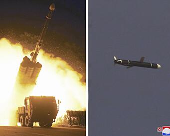 Nord-Korea har prøveskutt langdistanseraketter