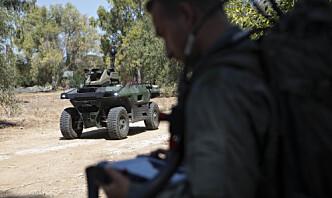 Væpnet robot avduket av israelsk forsvarsleverandør