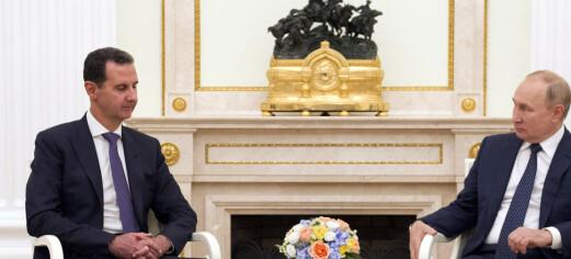 Assad besøkte Putin