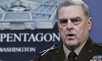USAs forsvarssjef fryktet at Trump kunne starte krig