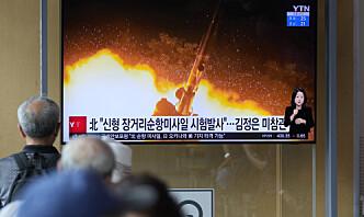 Nord-Korea og Sør-Korea trapper opp testing av nye raketter