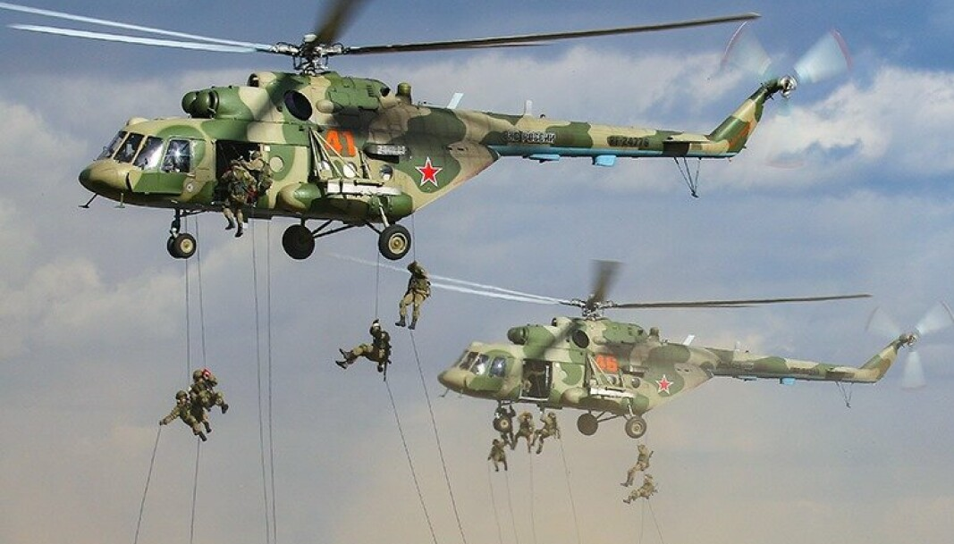 RAPPELERING: Russiske soldater under øvelse Zapad.