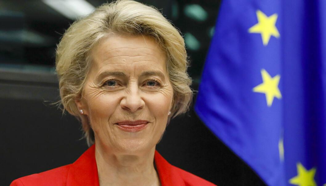 TALE: EU-kommisjonens leder Ursula von der Leyen holdt onsdag sin årlige tale til parlamentet om unionens tilstand.