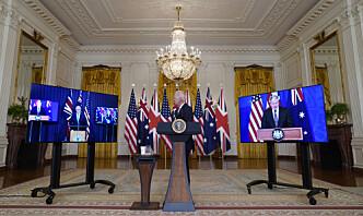 Australia inngår forsvarspartnerskap med USA og Storbritannia – bygger atomubåter