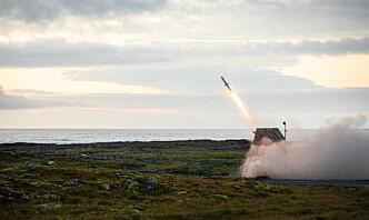 Nytt kampluftvern for første gang med på storøvelse i Finnmark