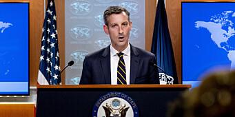 USA håper å diskutere strid med Frankrike neste uke