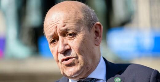 Frankrikes utenriksminister: Nato må ta ubåtsaken med i betraktningen