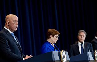 Minister: Australia spilte med åpne kort overfor Frankrike