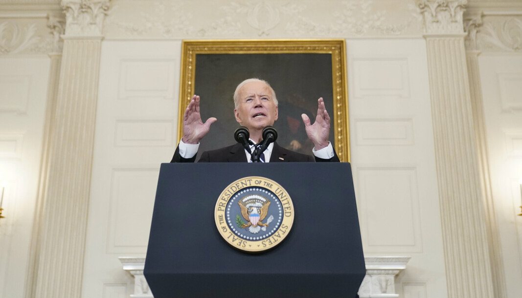 BIDEN: USA er tilbake, ifølge president Joe Biden. Nå forsøker han å styrke USAs forhold til resten av verden.