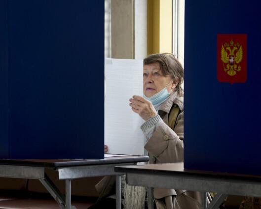 EU fordømmer trusler før valget i Russland