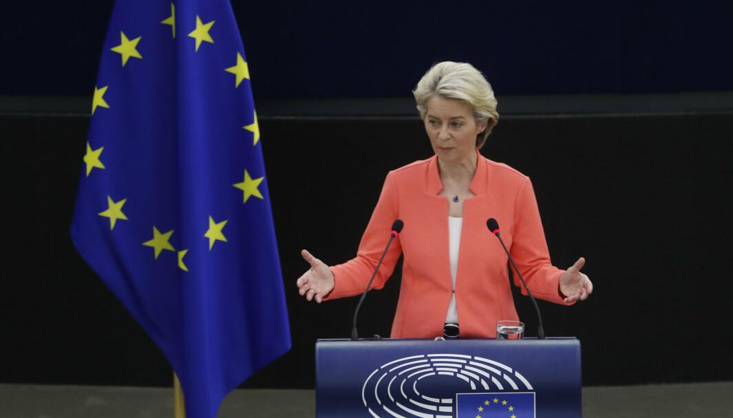 KRITIKK: EU-kommisjonens leder Ursula von der Leyen.