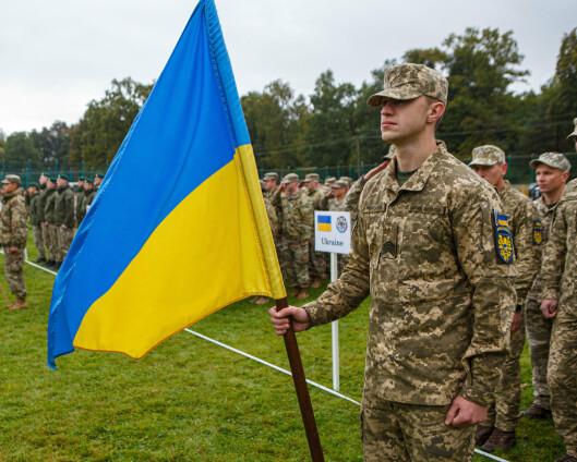 Nato-land i gang med militærøvelse i Ukraina