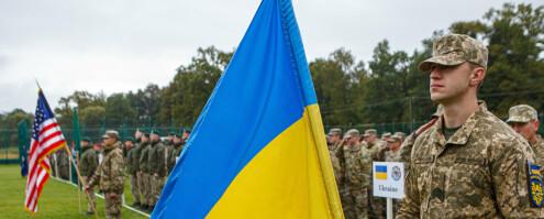Nato-land deltar på øvelse i Ukraina