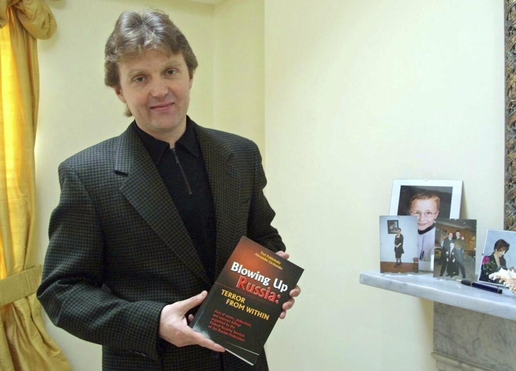 DREPT: Russiske myndigheter var ansvarlige for drapet på den russiske eksspionen Aleksandr Litvinenko i Storbritannia i 2006, mener Den europeiske menneskerettighetsdomestolen. Her var Litvinenko i hjemmet sitt i London i 2002.