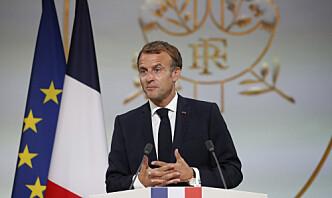 Macron vil samarbeide med India