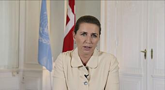 Danmark kritiserer EUs reaksjon på ubåtstriden