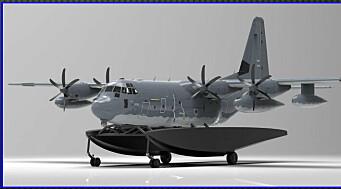 C-130J Hercules kan snart lande på vannet