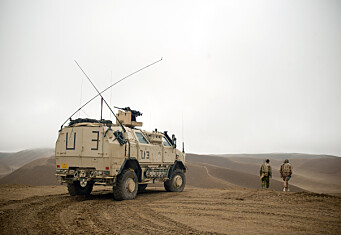 Forsvarets nye podcast forteller historien om Afghanistan