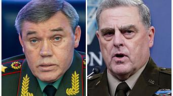 Amerikanske og Russiske millitærledere møttes i Finland