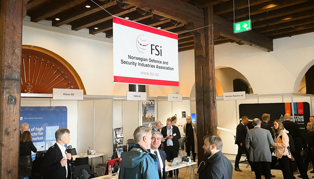 FORSVARSBEDRIFTER: Over 60 selskaper er påmeldt til å stille ut på den årlige FSi-messen på Akershus festning torsdag.