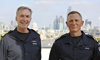 Daniel Craig får samme grad som James Bond