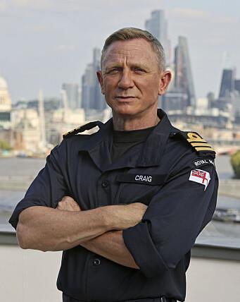 OFFISER: Craigs grad matcher nå graden til agent 007.