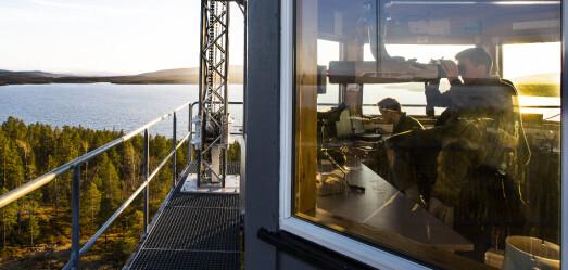 Berlevåg mannskor synger for GSVs 100-årsjubileum