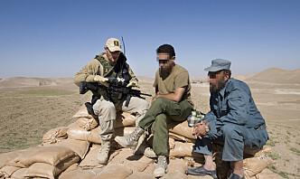 Norske politifolk om jobben i Afghanistan: – Det var ikke bortkastet
