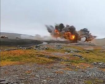 F-35 slapp bomber over Finnmark