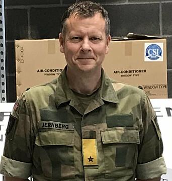 LOGISTIKK: Brigader Anders Jernberg er sjef for Nasjonalt logistikkoperasjonssenter.