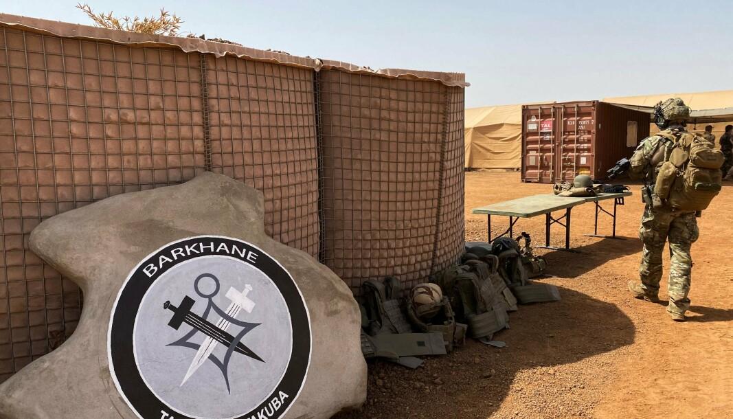 MALI: Sverige har takket ja til å bemanne en lederstilling i den franskledede spesialstyrkenheten Task Force Takuba i Mali. Bildet er fra 3. november 2020.
