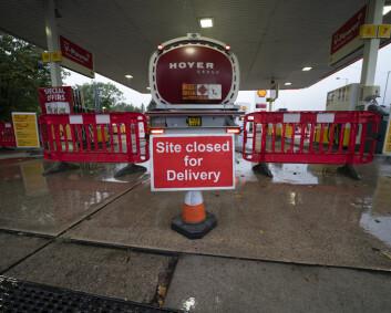 Britiske soldater kan bli satt inn til å sikre bensinstasjon-forsyninger