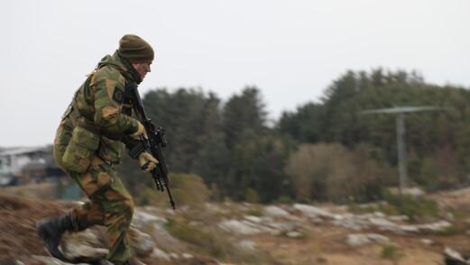 Heimevernet øver i Rogaland