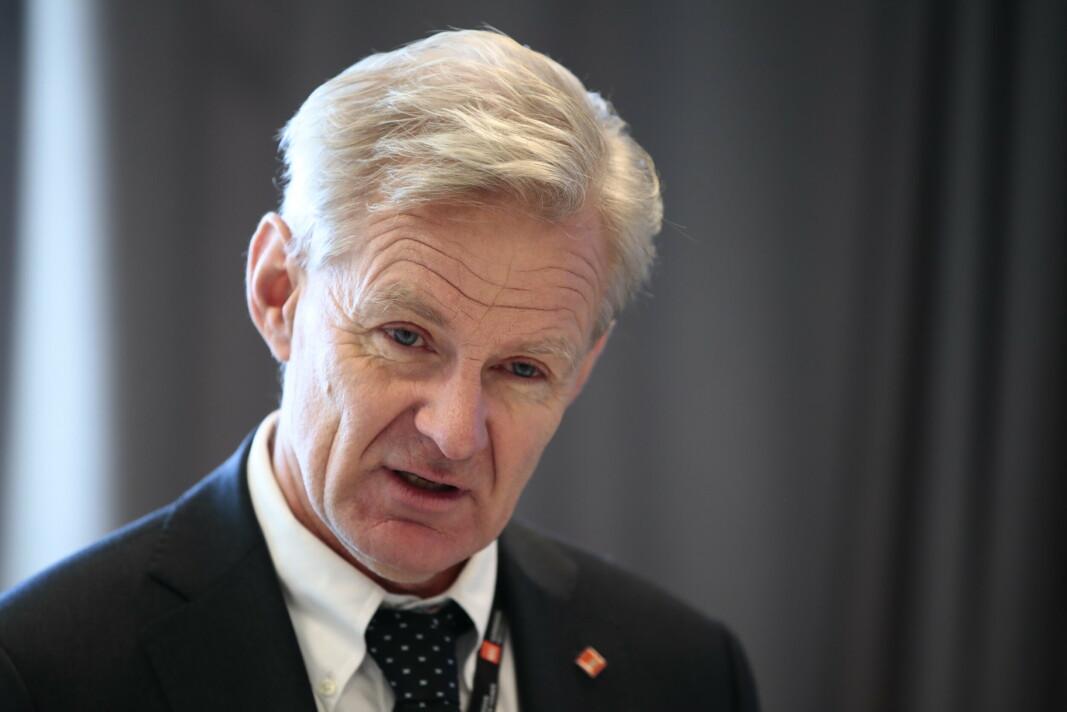 BESØKTE KABUL: Flyktninghjelpens generalsekretær Jan Egeland, her i Oslo i fjor, besøkte mandag Kabul der han slo fast at landet er på randen av økonomisk kollaps.