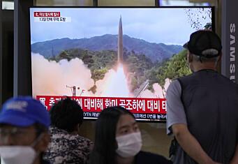 Nord-Korea gjennomførte ny rakettest