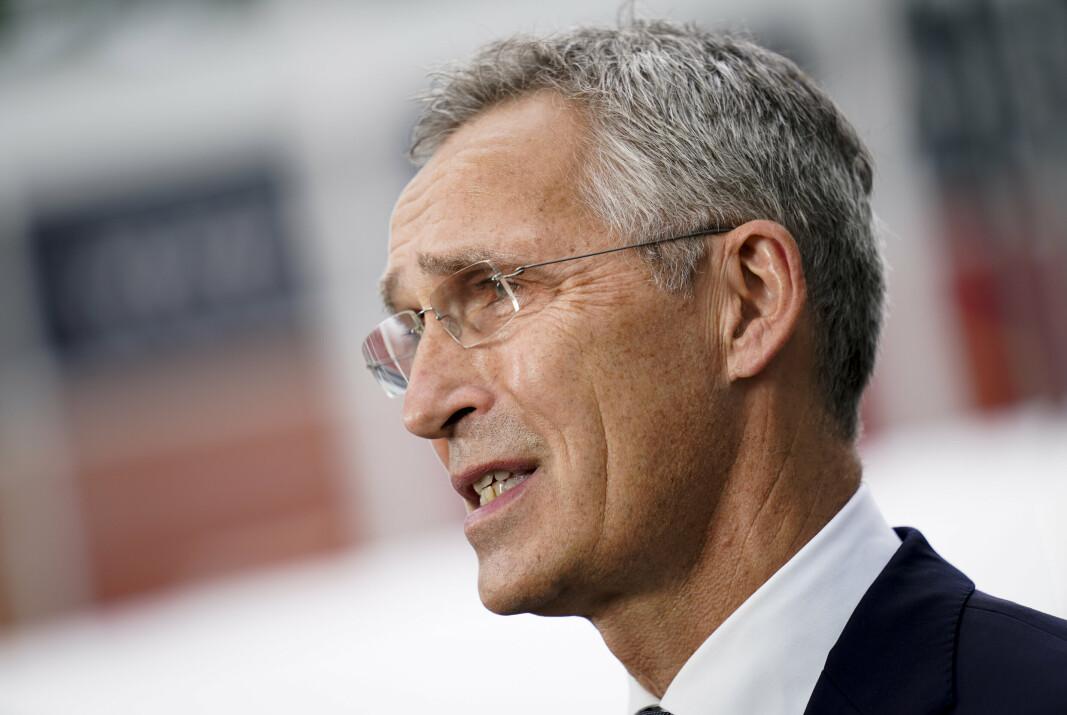 KRITISK: Et Europeisk forsvarssamarbeid er ikke veien å gå, ifølge Nato-sjef Jens Stoltenberg.