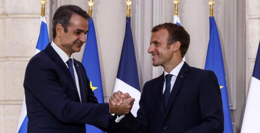 Hellas kjøper franske fregatter