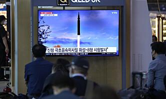 Nord-Korea sier de testet hypersonisk rakett