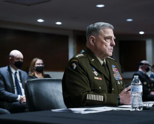 Amerikanske forsvarstopper ville beholde styrker i Afghanistan