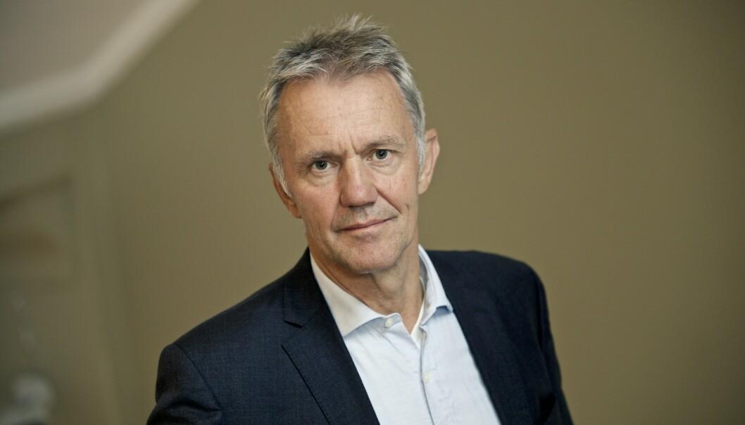 NY STILLING: Arne Røksund er idag departementsråd i Forsvarsdepartementet. Fra januar blir han ny president for ESA.