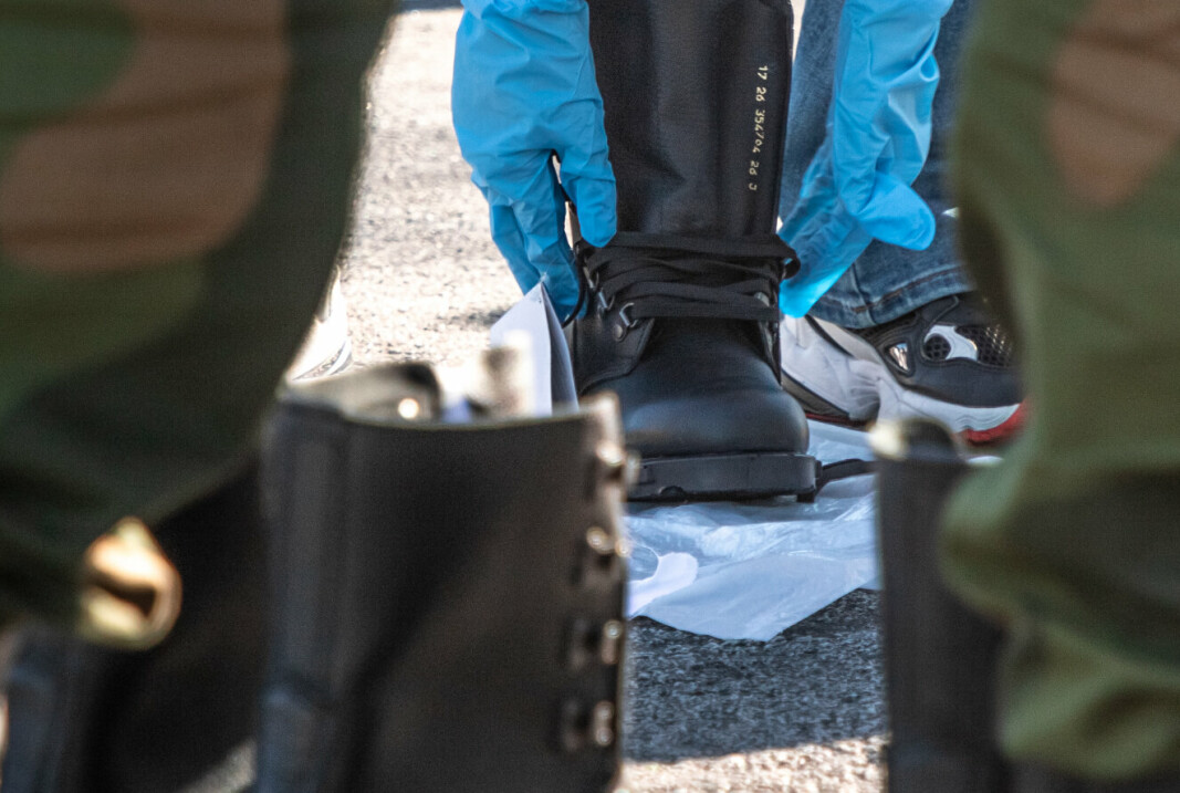 M/77: Det er feltstøvler av denne typen som mangler. Det er støvelen som rekrutter normalt får utdelt.