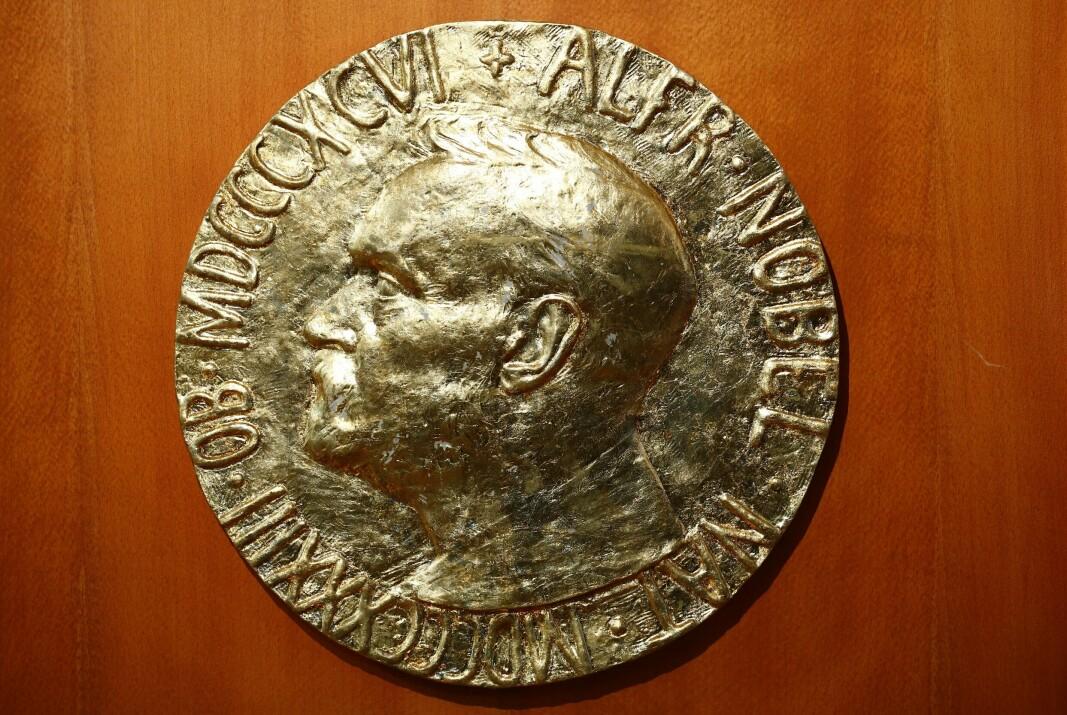 FREDSPRIS: Alfred Nobel preget fredsprismedaljen.