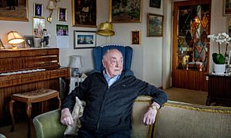 Krigsveteran (101) hedret for sin innsats i Shetlandsgjengen