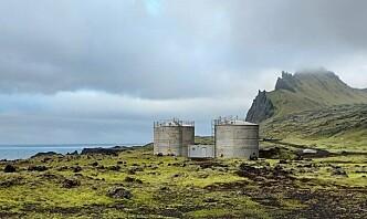 Forsvarsbygg må sørge for sikrere lagring av olje på Jan Mayen
