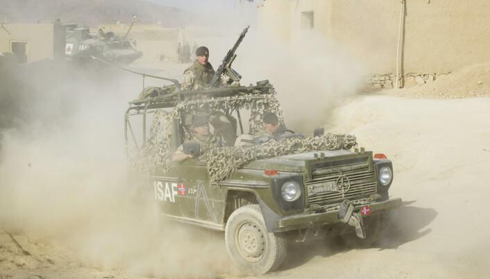 AFGHANISTAN: Norske soldater patruljerer i utkanten av Kabul. Idag ble den andre Afghanistan-undersøkelsen presentert.
